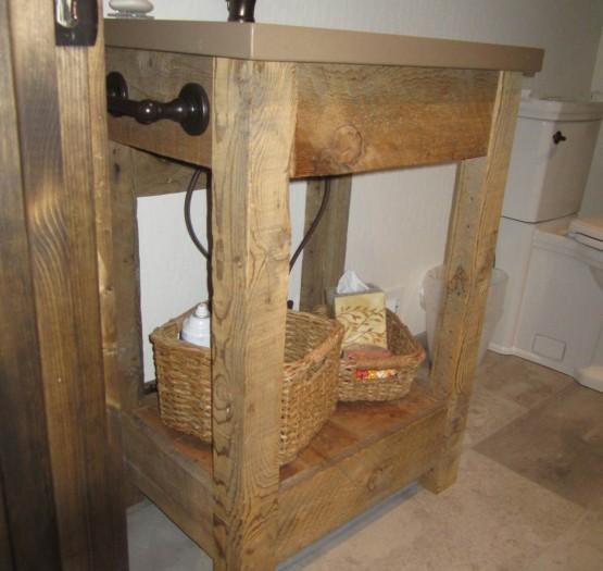 custom sink and vanity
